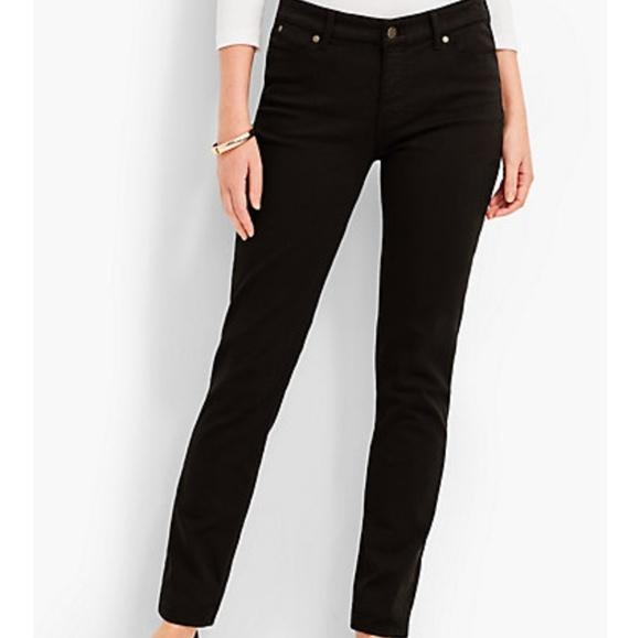 1694b80a4b5f2 Talbots Slim Ankle flawless five pocket jeans. M_5b916a6b9fe486e4a7ef26fe